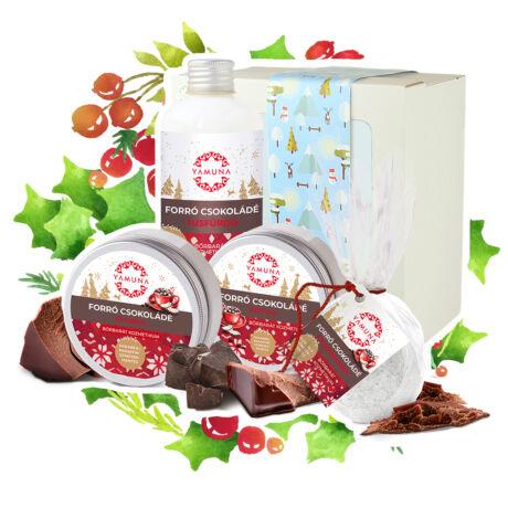 Forró csokoládé csomag díszdobozban